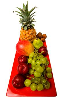 Free Fresh Fruit Assortment. Royalty Free Stock Photography - 4265087