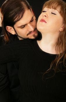 Sensual Couple 2 Royalty Free Stock Images