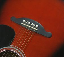 Free Strings On A Guitar Royalty Free Stock Photography - 4265557