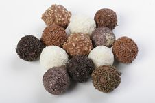Free Group Of Truffles Stock Image - 4266111