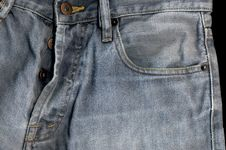 Free High Detailed Old Jeans Stock Images - 4266974