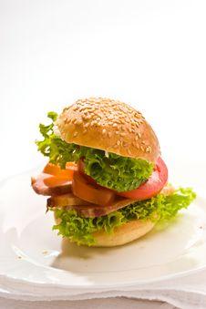 Free Corned-beef Sandwich Stock Photo - 4267590