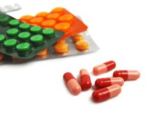 Free Packs Of Pills Stock Images - 4268364