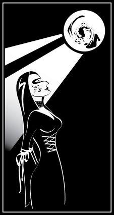 Free Gothic Girl Stock Photos - 4268493