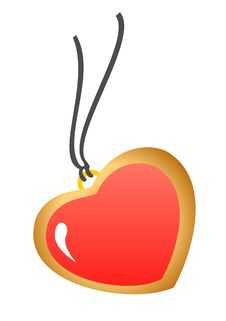 Free Pendant Heart Stock Images - 4268564