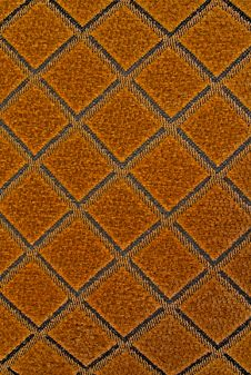 Red Orange Fabric Texture Royalty Free Stock Images