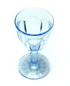 Free Blue  Goblet Royalty Free Stock Image - 4269086