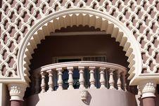 Free Balcony  In Oriental Hotel Royalty Free Stock Photo - 4269185