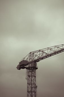 Free Old Crane Royalty Free Stock Photography - 4269337