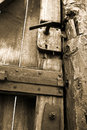 Free Antique Rusty Door Royalty Free Stock Photography - 4270777