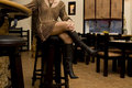 Free Woman Sitting In Japanese Bar Royalty Free Stock Image - 4272466