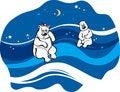Free White Bears Royalty Free Stock Photo - 4276795