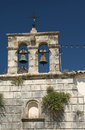 Free Monastery Bell Tower In Greek Village Royalty Free Stock Image - 4277056