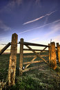 Free Gate On The South Downs Stock Images - 4278164