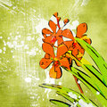 Free Green Floral Painting Royalty Free Stock Photos - 4279568