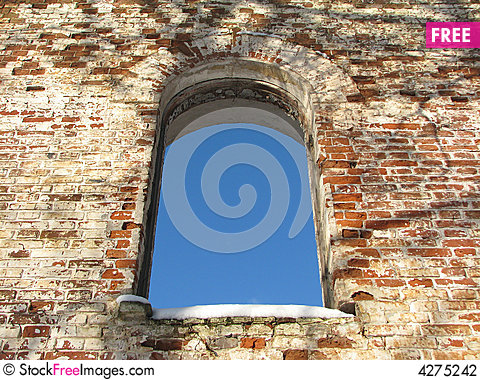 Free Arc Window Background Frame 01 Stock Photography - 4275242