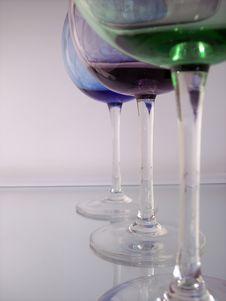 Free Wine Glasses Stock Image - 4270991