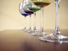 Free Wine Glasses Royalty Free Stock Image - 4271036