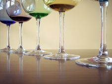 Free Wine Glasses Stock Images - 4271124