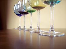 Free Wine Glasses Stock Photography - 4271132