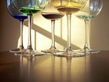 Free Wine Glasses Stock Photography - 4271142