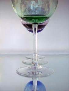 Free Wine Glasses Stock Image - 4271151
