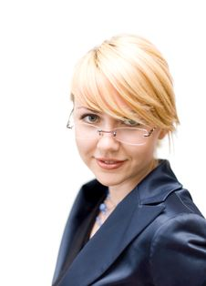 Free Businesswoman Look At Camera Royalty Free Stock Photos - 4271268