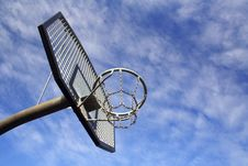 Free Basketball Hoop Royalty Free Stock Images - 4271529