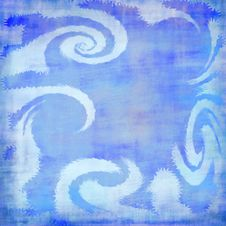 Free Blue Waves Royalty Free Stock Images - 4272159