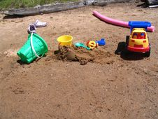 Free Beach Toys Royalty Free Stock Photography - 4272357