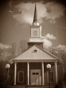 Free Vintage Church Royalty Free Stock Photos - 4273318