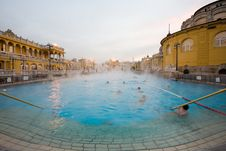 Free Public Baths, Morning Royalty Free Stock Photos - 4273758
