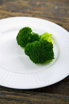 Free Green Steamed Broccoli Stock Images - 4273834