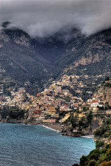 Free Positano, The Bay Stock Photos - 4274043
