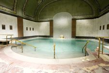 Free Public Baths Interior Royalty Free Stock Images - 4274079
