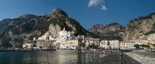Free Amalfi, The Bay Royalty Free Stock Photos - 4274168