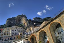 Free Atrani, The Bay Stock Photography - 4274192