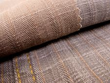 Free Textile Brown Texture Sample Stock Image - 4274281