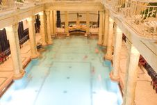 Free Public Baths Interior Stock Photography - 4274622
