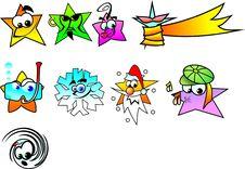 Free Stars Royalty Free Stock Image - 4275586