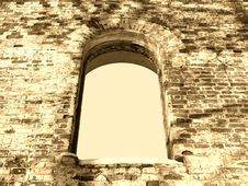 Free Arc Window Background Frame 02 Royalty Free Stock Image - 4275646