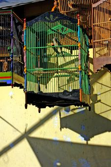 Free Indonesia, Java: Bird Cages Royalty Free Stock Photos - 4275818