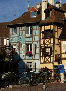 Free Little Venice - Colmar Stock Photo - 4276350