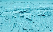 Free Indonesia, Java: Frescoes In Bas Relief Stock Image - 4276551