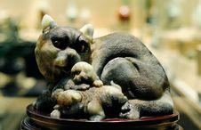 Free Jade Cat Stock Photos - 4277073