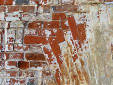 Free Twisted Brick Wall Background Stock Photos - 4277143