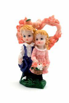 Free Souvenir - Toy. Isolated Royalty Free Stock Photos - 4277328