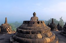 Free Indonesia, Java, Borobudur: Temple Stock Images - 4277794
