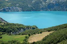Beautifull Alpine Lake Stock Photo