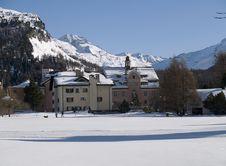 Free Village With Snow Stock Photos - 4278233